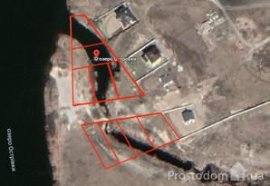 Земельный участок 0.90 сот. с прямым выходом на озеро