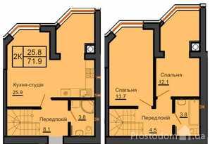 Продам 2-к квартиру Киево-Святошинский, Софиевская Борщаговка