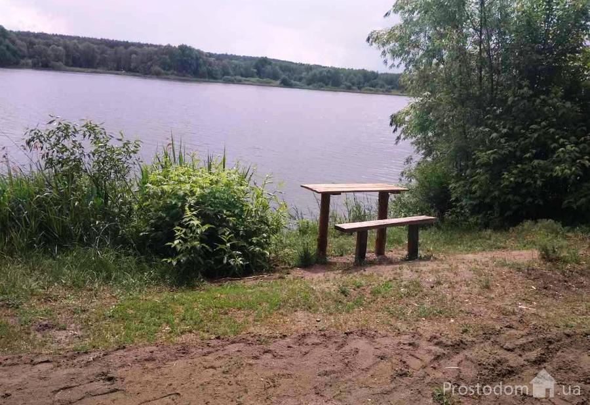 фотография - Дача с санузлом и горячей водой в доме. Рядом озеро  и лес. Хлепча