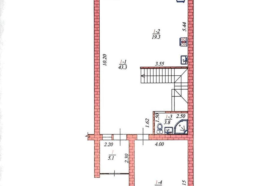 фотография - Продамо затишний Будинок-таунхаус зі своєю ділянкою! --таунхаус має гараж 28 ква