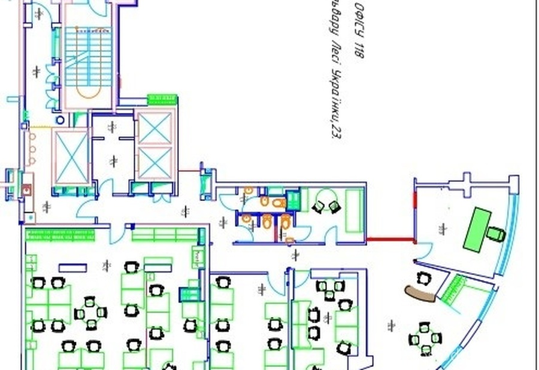 фотография - Аренда офиса по адресу б-р.Леси Украинки, 302 м.кв. н.ф., 2 этаж, мебель