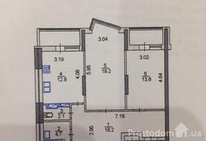 фотография - Драгоманова,2 Продается двухкомнатная квартира в новом доме.