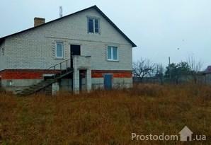 Недостроенный кирпичный дом на участке 19 соток с восхитительным видом краевидом